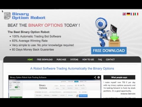 How to use binary options robot