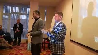 Смотреть видео Тренинг Бизнес тренеров! 2017 г Москва Ицхака Пинтосевича онлайн