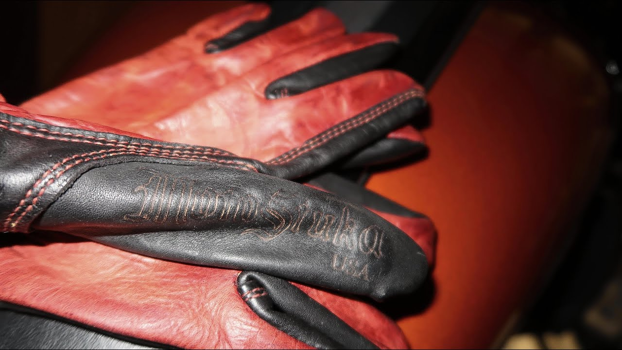 Leather Motorcycle Gloves from Motostuka   Made in the USA