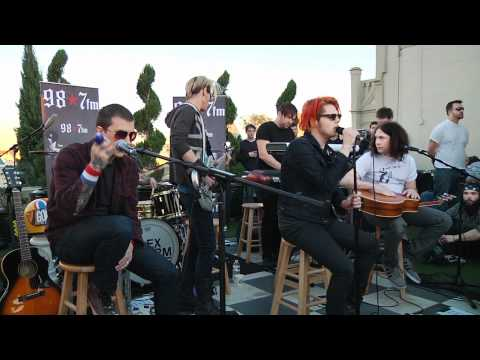 My Chemical Romance  Cancer  Acoustic at 987FM Penthouse