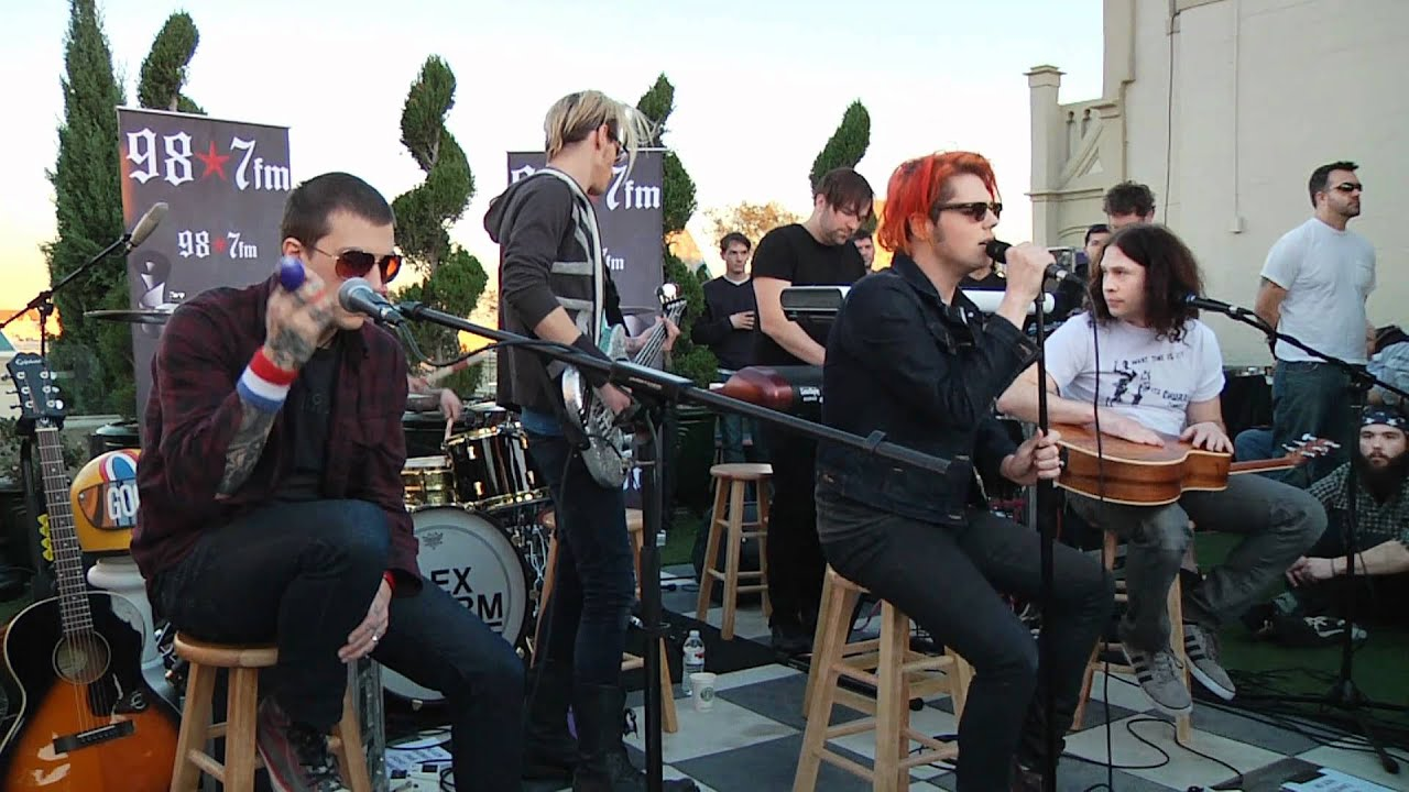 My Chemical Romance  Cancer (live Acoustic At 987fm