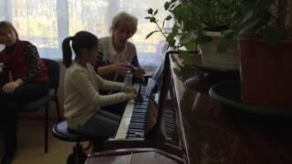 Открытый урок по классу фортепиано Митяниной Л.В. ч.1