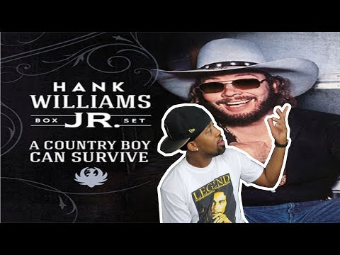 REACTION  Hank Williams Jr - Country Boy Can Survive & Dinosaur‼ He&39;s Incredible‼