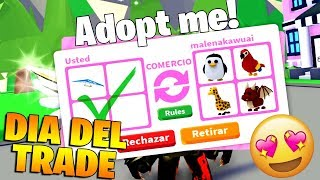 TODAY IS THE DAY OF EXCHANGE 😲 IN ADOPT ME ROBLOX!
