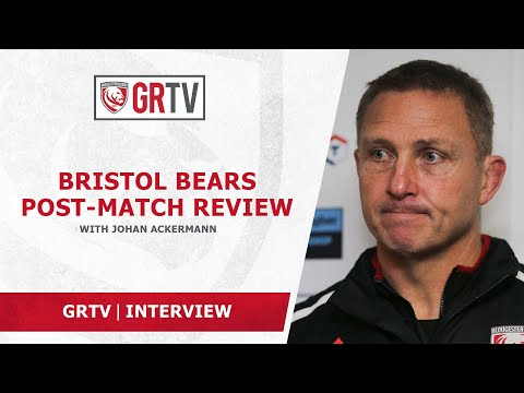 Ackermann offers no excuses for nature of Saturday's loss at Bristol