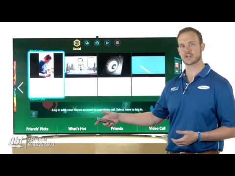 Samsung Smart TV Interface And Features