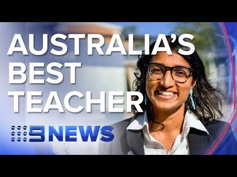 Western Sydney Teacher Named Among Top 10 In The World | Nine News Australia