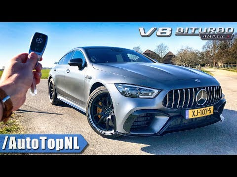 Mercedes-AMG GT 63 S 4Door REVIEW POV Test Drive On AUTOBAHN & ROAD By AutoTopNL