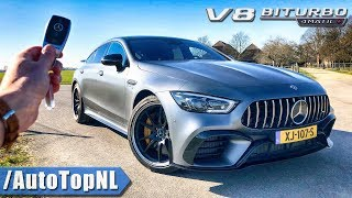 Mercedes-AMG GT 63 S 4Door REVIEW POV Test Drive on AUTOBAHN & ROAD by AutoTopNL thumbnail