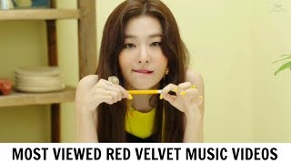 Most Viewed RED VELVET Music Videos | October 2017