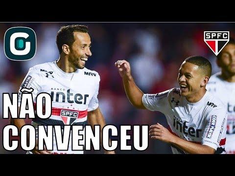 São Paulo 1x0 Bragantino | Vitória Com Jogo Ruim E Vaias- Gazeta Esportiva (08/02/18)