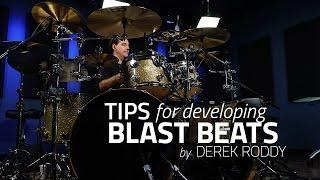 Derek Roddy's Tips For Developing Blast Beats - Drum Lesson (Drumeo)
