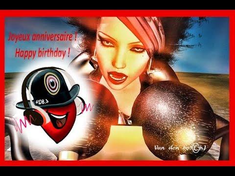 Happy Birthday Motorbike Joyeux Anniversaire Moto Harley Humour