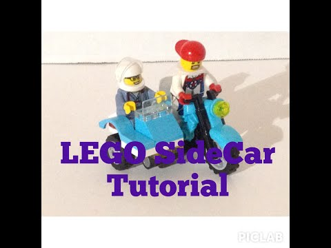 how to make a lego motorcycle from scratch