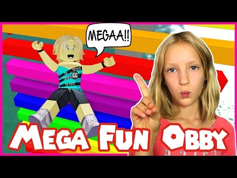Mega Fun Easy Obby in Roblox / I'm Not Karina