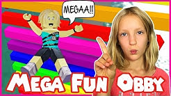 Mega Fun Easy Obby in Roblox / I'm Not Karina