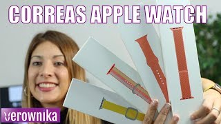 Las mejores CORREAS para el APPLE WATCH | Review y Unboxing