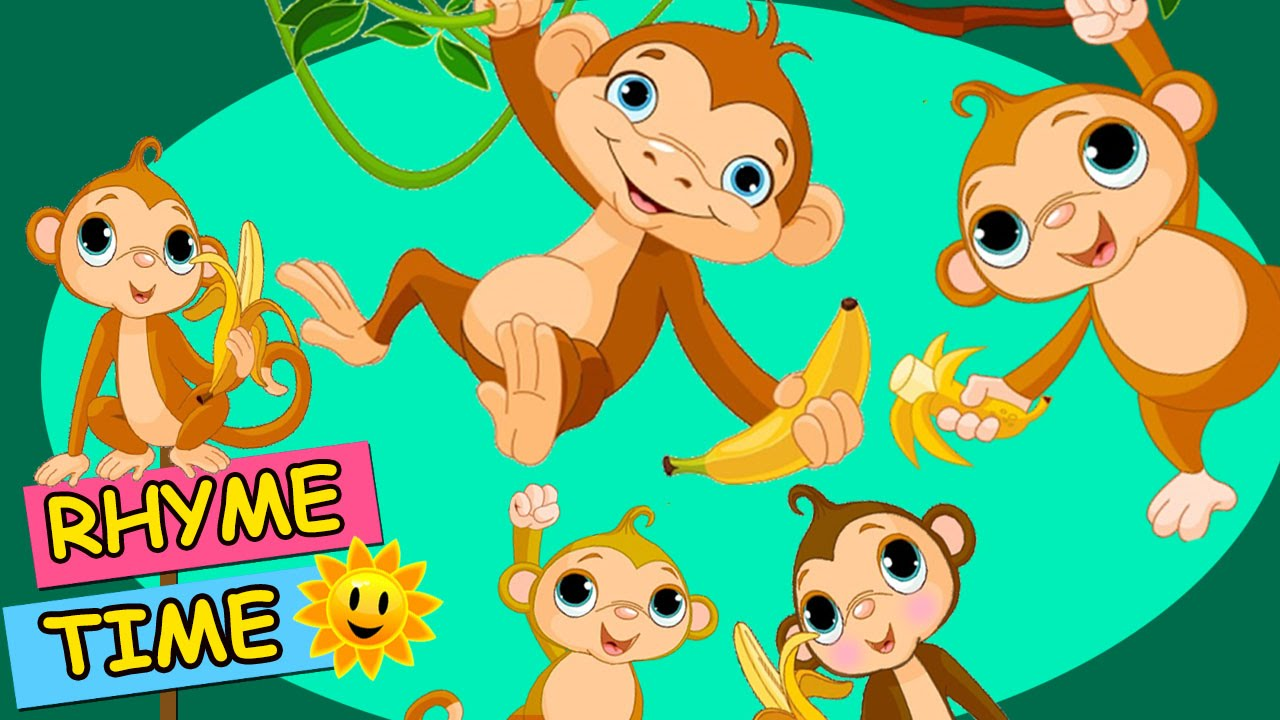 Five little monkeys jumping on the bed hd rhyme time popular five little monkeys jumping on the bed hd rhyme time popular nursery rhymes for children amipublicfo Image collections