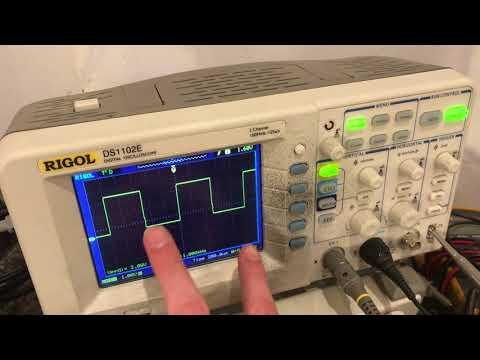 RIGOL DS1102E osciloscope (basic understanding)