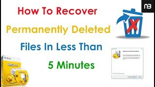 How To Recover Permanently Deleted Files In Windows PC - Simple Trick