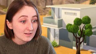i built a cube house in the sims lol