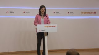 ERC visualiza el pacto con el PSOE para enero
