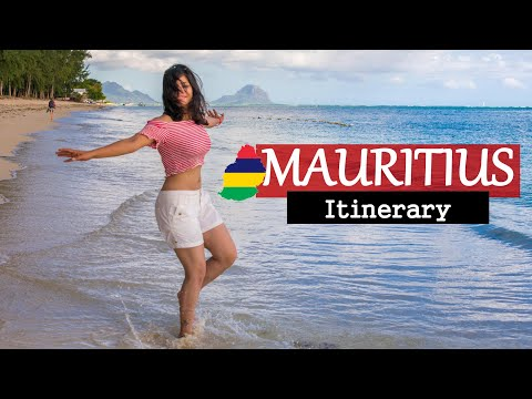 India to Mauritius - A Two Weeks Itinerary - Things to Do, Places to See With Route Map