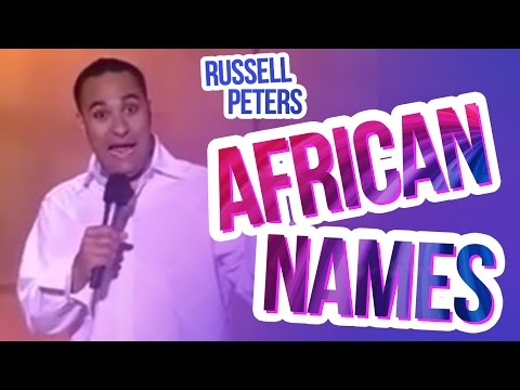 """African Names"" 