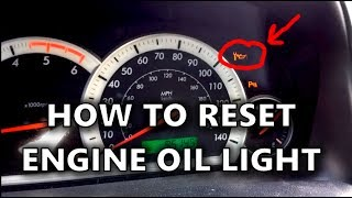 how to reset an engine oil service light on chevrolet captiva and vauxhall antara