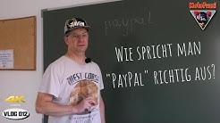 Wie spricht man PayPal richtig aus? - VLOG012 [4K]