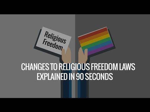 The Religious Freedom Debate Explained in 90 Seconds