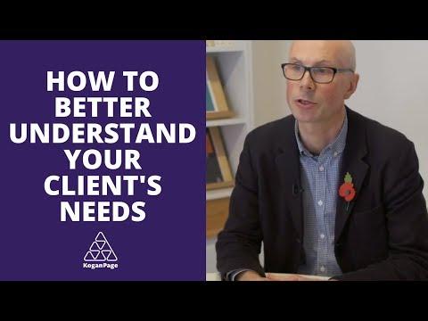 How to Better Understand Your Clients Needs | Nigel Clark