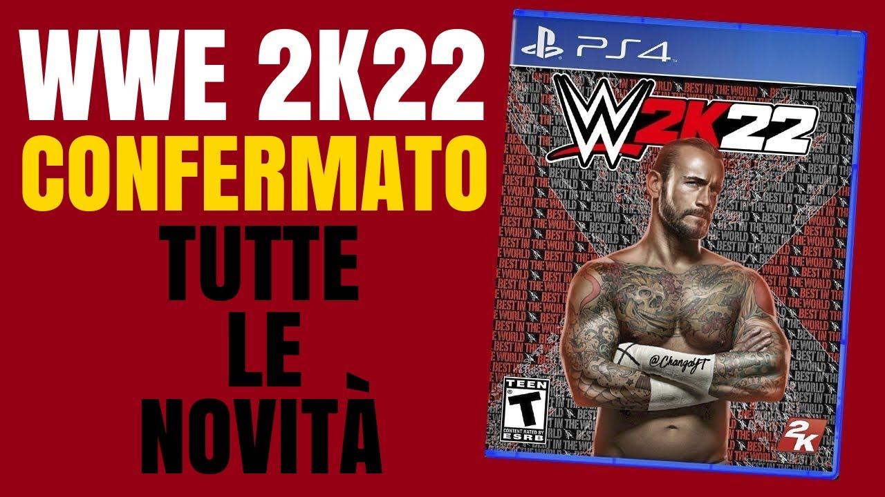 WWE 2K22 CONFERMATO! TUTTE LE NOVITÀ!