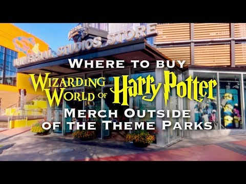 WHERE TO BUY HARRY POTTER MERCH OUTSIDE OF UNIVERSAL STUDIOS THEME PARKS
