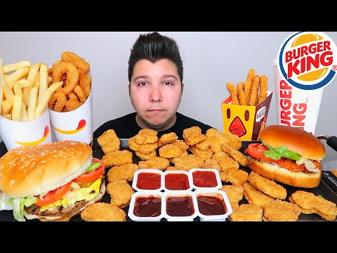 I'm Sorry To Veronica Wang • Burger King • MUKBANG