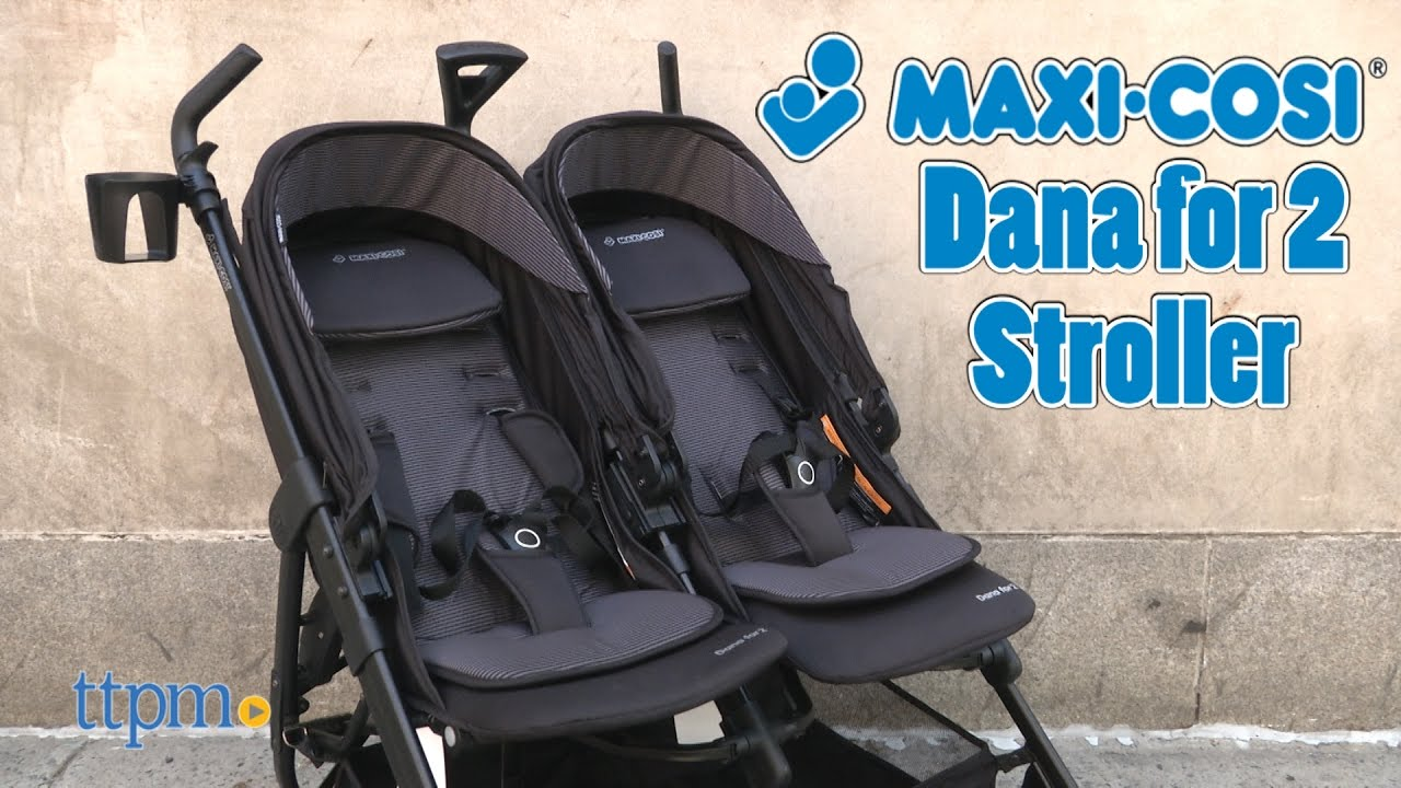 Dana For2 Double Stroller From Maxi Cosi