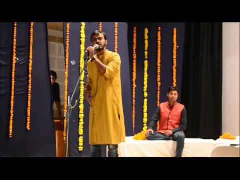 तूर्यनाद '15 , कवि सम्मलेन , विवेक परिक की प्रस्तुति