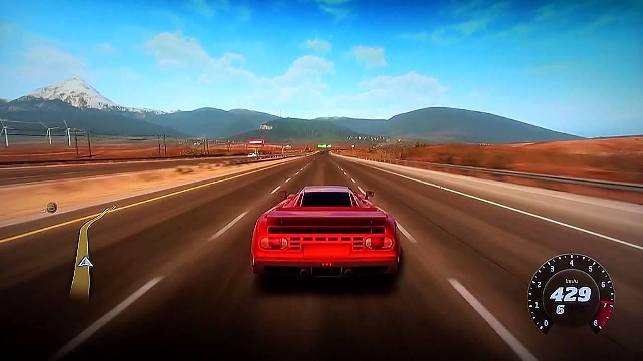 Bugatti eb110 top speed