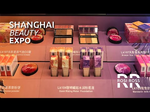 Learning About Cosmetics  |  China Beauty Expo  |  Rosi Ross