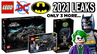 Everything Left for LEGO DC (Batman) 2021 - 3 Sets Left & What 2022 Will Look Like