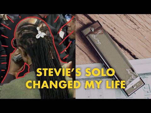 Stevie Wonder Impromptu Harmonica Solo NAMM 2016
