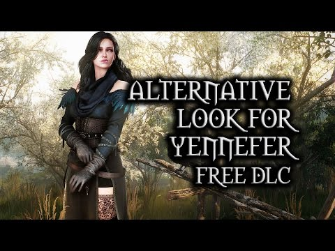 The Witcher 3: Wild Hunt - Alternative Look for Yennefer (free DLC)