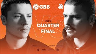 D-LOW vs COLAPS | Grand Beatbox Battle 2019 | 1/4 Final