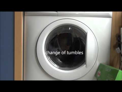 Zanussi Aquafall ZWHB7160 washing Machine : Cotton 30'c