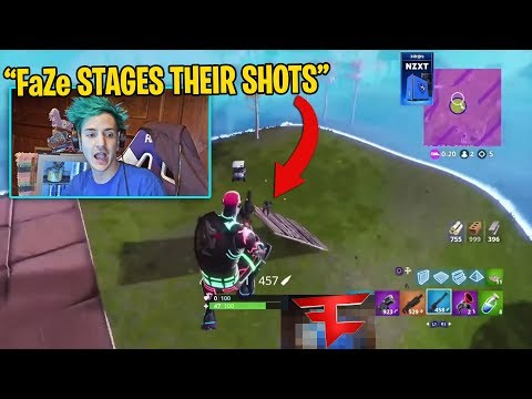 Ninja CALLED Out FaZe For FAKING Clips...