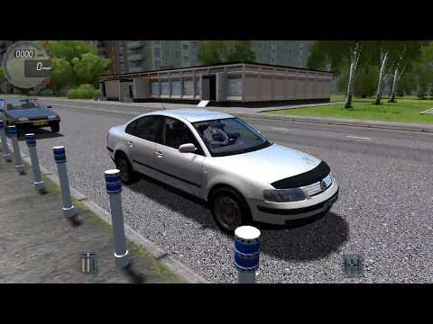 City Car Driving-Volkswagen Passat B5-Logitech momo