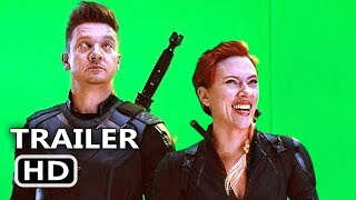 AVENGERS ENDGAME BLOOPERS (Bonus, 2019) Marvel Movie HD