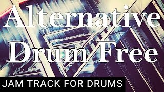 Drumless Backing Track Upbeat Alternative Rock (125 BPM)