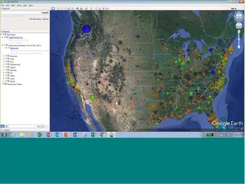 Trend Setting: Visualizing U.S. electric sector trends
