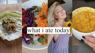♡WHAT I ATE TODAY as a VEGAN♡